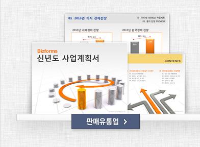2013년 표준 신년도 사업계획서(판매, 유통)