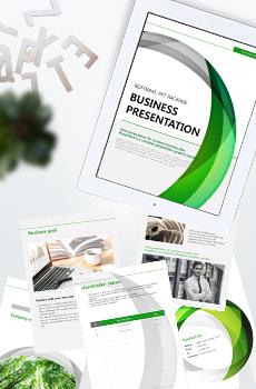 브로슈어형 제조, 생산4 PPT 패키지(회사소개서, 보고서, 제안서, 기획서, 심플)