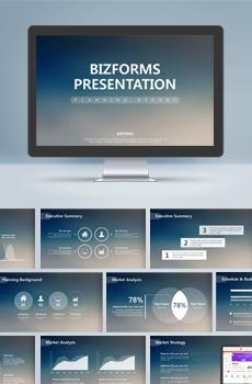 스티브잡스형 보고서3 PPT 패키지(사업제안서, 업무보고서, 결산보고서, 제품제안서, 영업보고서, 공연기획서, 광고기획서)