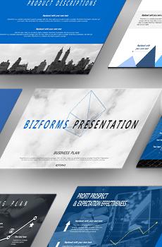 인포그래픽형 사업계획서3 PPT 패키지(창업, 유통, 카페, 프랜차이즈, 여행사, 쇼핑몰, 교육 사업계획서)