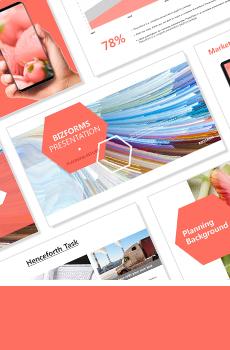 컬러형 보고서 PPT 패키지(사업제안서, 업무보고서, 결산보고서, 제품제안서, 영업보고서, 공연기획서, 광고기획서)