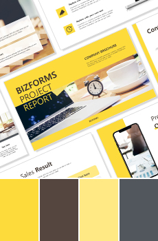 컬러형 브랜딩 PPT 패키지_노랑2 (사업제안서, 업무보고서, 결산보고서, 제품제안서, 영업보고서, 공연기획서, 광고기획서)