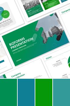 컬러형 브랜딩 PPT 패키지_초록 (사업제안서, 업무보고서, 결산보고서, 제품제안서, 영업보고서, 공연기획서, 광고기획서)