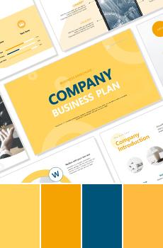 컬러형 브랜딩 PPT 패키지_노랑 (사업제안서, 업무보고서, 결산보고서, 제품제안서, 영업보고서, 공연기획서, 광고기획서)