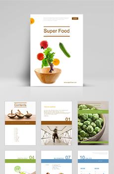 식품가공, 유통5 파워포인트 디자인(제안서, 회사소개서, 기획서, 브로슈어, 상품소개서 디자인)